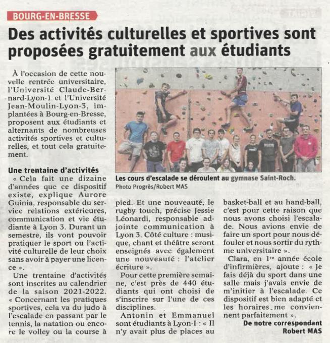 Lancement des activités sportives et culturelles