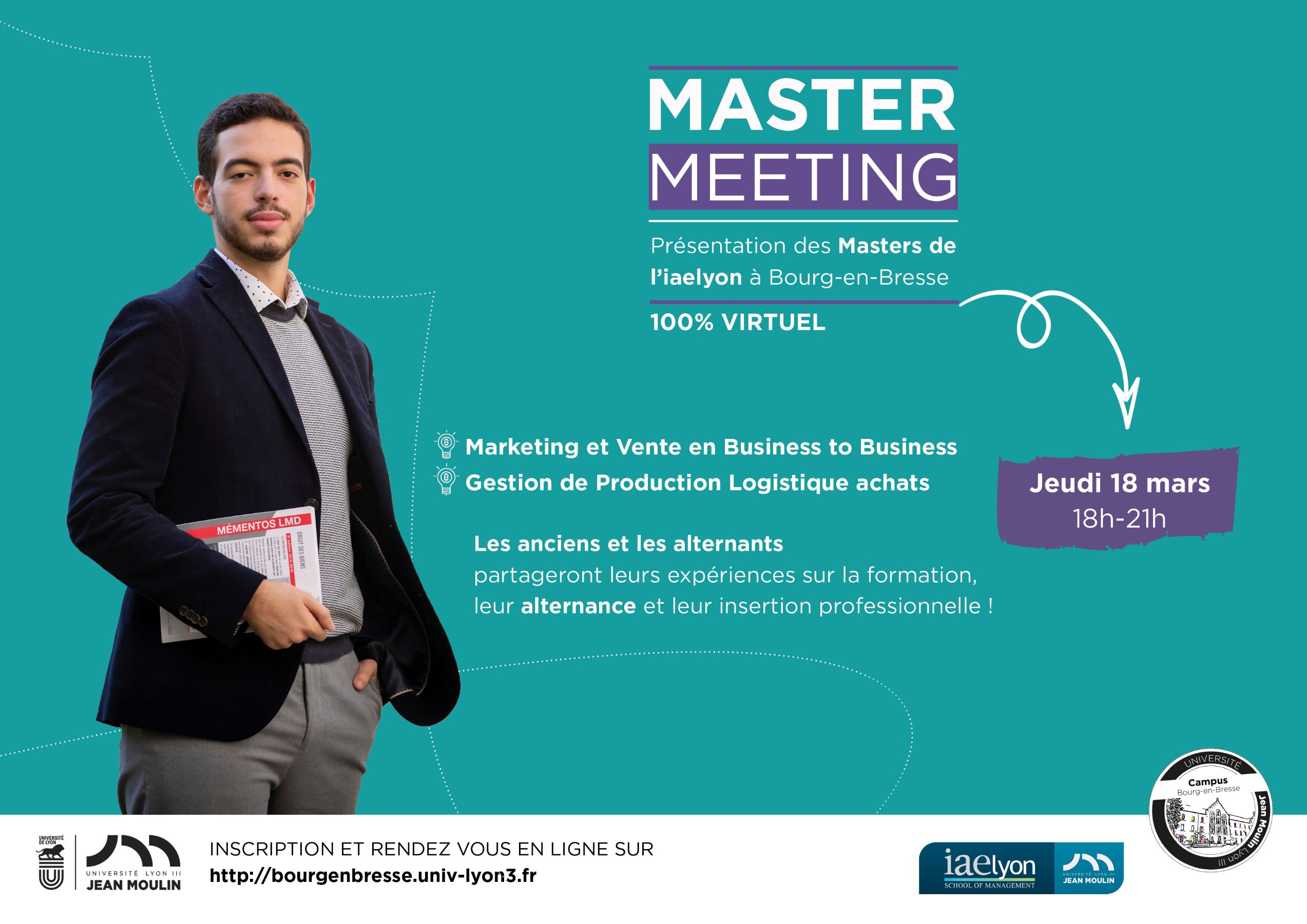 Affiche Master meeting gestion