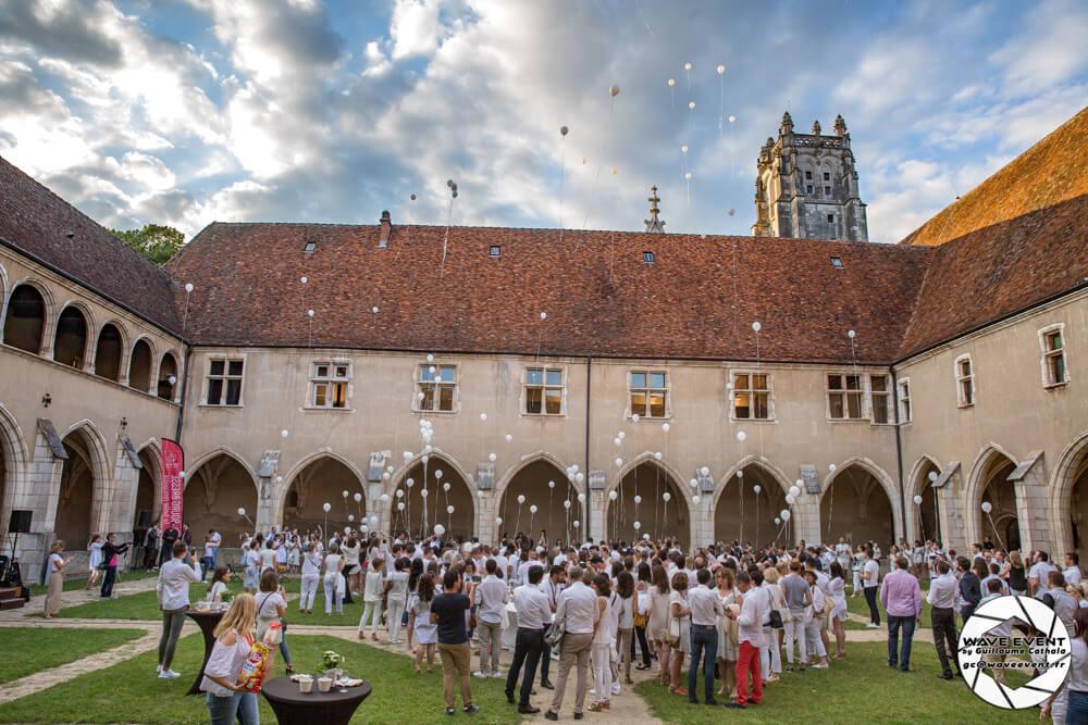 Soirée blanche au Monastère de Brou
