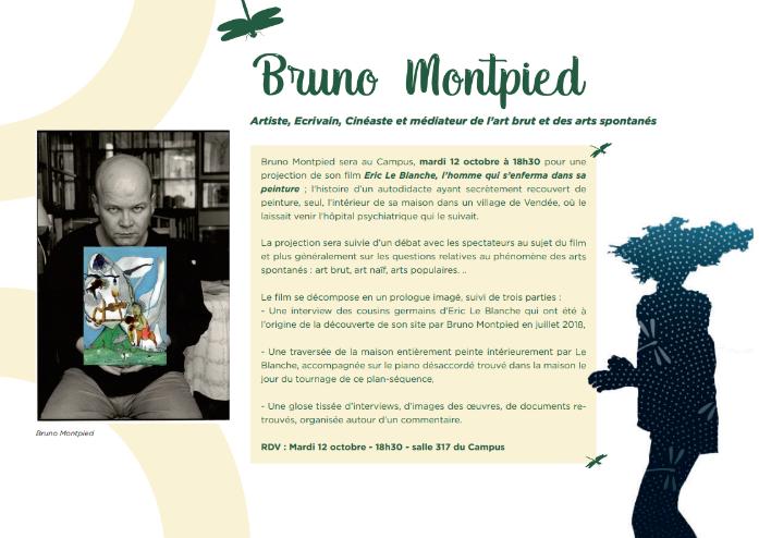 Conférence débat – Bruno Montpied – Mardi 12 octobre – 18h30