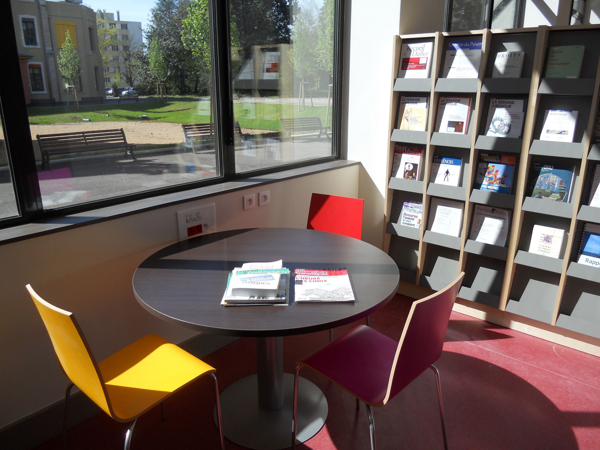 Services du Campus de Bourg-en-Bresse.