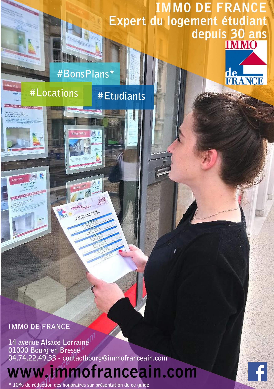 Immobilier de France Logement étudiants