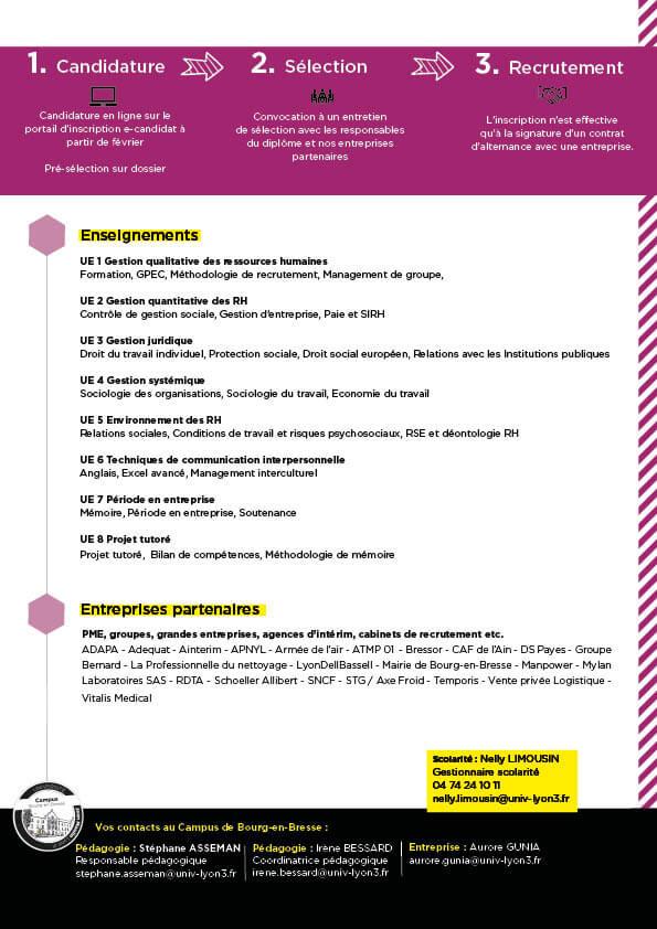Guide formation LP CRH