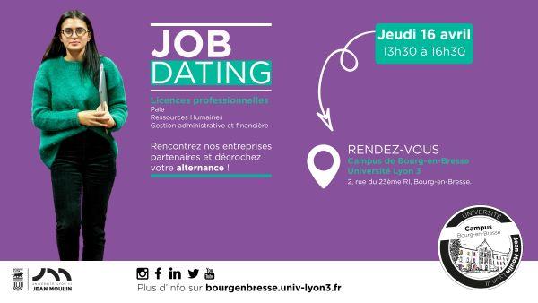 Job dating et Masters meeting