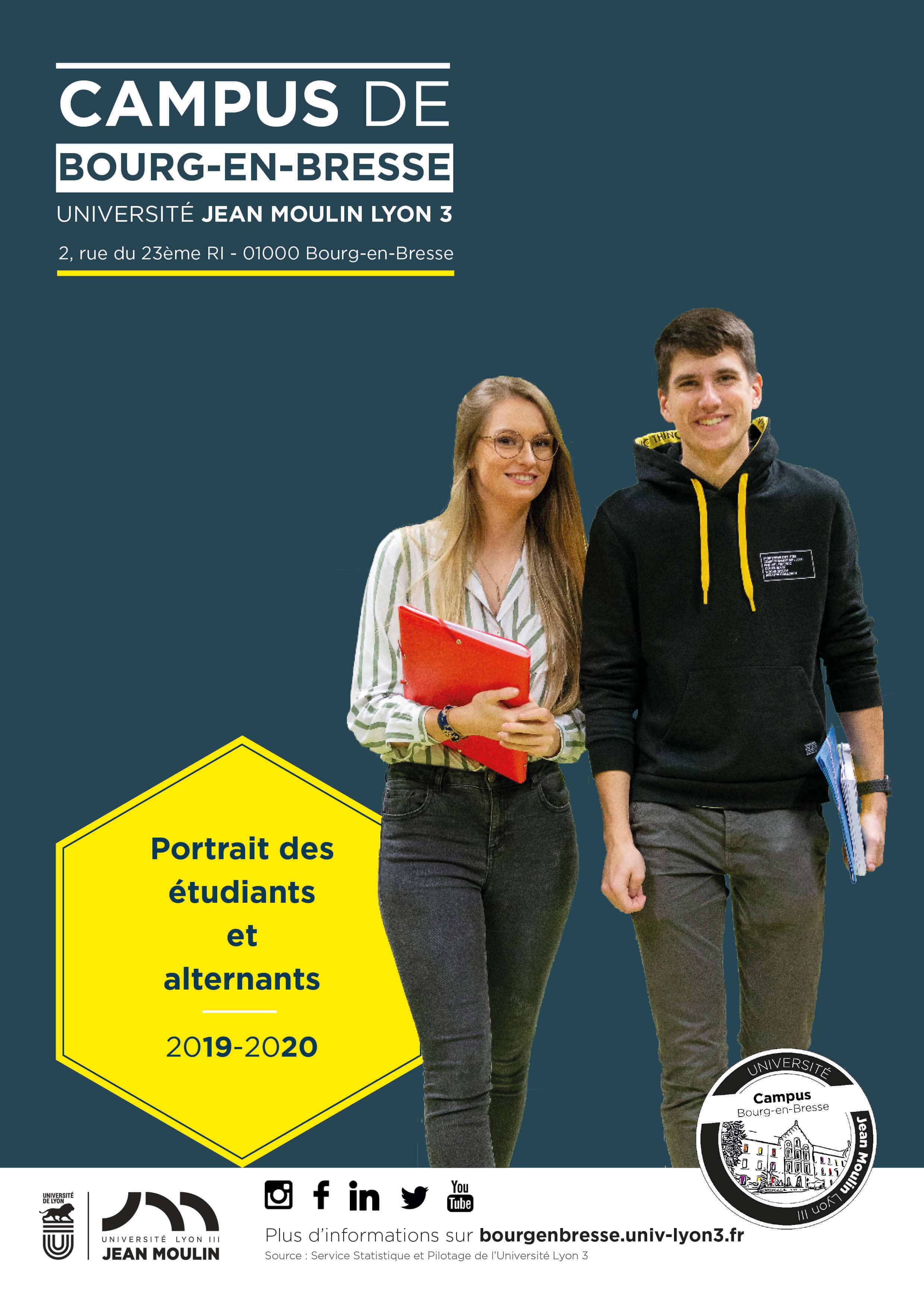 portrait des étudiants 2019/2020