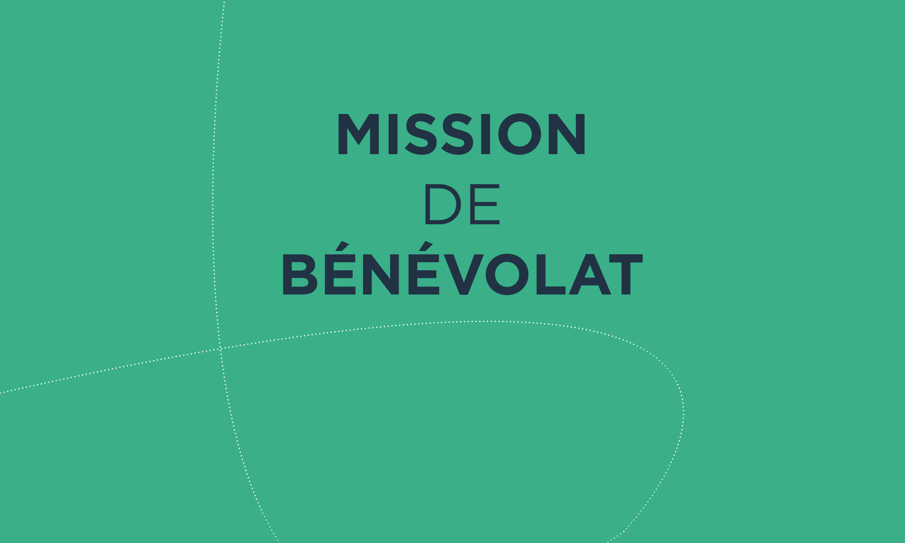 MISSION DE BENEVOLAT
